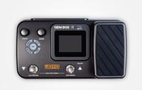 pedales de guitarra joyo al por mayor-Sección de actualización JOYO integrado efecto de guitarra eléctrica de madera con la grabación de ciclo de pedal de la máquina de tambor GEMBOX segunda generación II