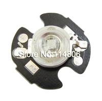 Wholesale 16mm round beads - Wholesale- 20pcs lot 3W Royal Bule 445~450nm 45mil Chip LED Bead Light With 16mm Round Heatsink