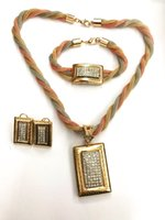 Wholesale Wholesale Banquet Items - Meini - kakaad's top three items in 2017: necklaces, earrings, bracelets, plated gold trichrome, for gift-giving, social banquets and variou