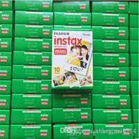 Wholesale Fuji Instant - New Arrive Fujifilm Instax Mini 8 film for Fuji Instax Mini 7s 8 9 70 Instant Photo Camera Share SP-1 SP-2 White Film