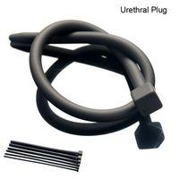 Wholesale Sounding Hose - Silicone Male Enlarger Urethral Dilators Penis Plug Sounding Urethral Stretching Sex Toys For Men Hose Eye Insert Adult
