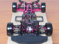 Wholesale Ep Rc - OEM 1 10 Alloy & Carbon SAKURA D4 AWD EP Drift Racing Car Frame Body Kit RC Control Car #KIT-D4AWD