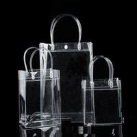 Wholesale Wholesaler Wine Cooler Bag - Wine Bottle Cooler Chiller Bag Cosmetics Bags Transparent PVC Carrier Ice Chilling Cooling Party Gift Fun Collection Bag