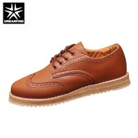 Atacado-Vintage Marinha 37-47 Men's Leather Flats Business Dress Oxfords Shoes Plataforma Casual Novo Marca Para Homens Mocassins