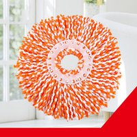2017 Nouveau Wholesale-Durable 360 ​​Rotating Head Easy Magic Microfiber Spinning Floor Tissu Mop Head Livraison gratuite