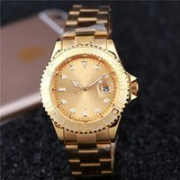 Wholesale Quartz watch hot sale mens luxury watches top brand auto matic watch steel gold dive watch
