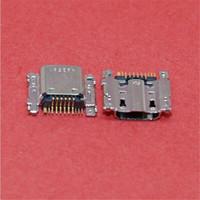 Wholesale Micro Usb Plug Connector - 50PCS  7 PIN Micro Usb Charger Charging jack socket Connector Plug Dock Port Tail plug For Samsung Galaxy i9200 P5200 i9205 T211