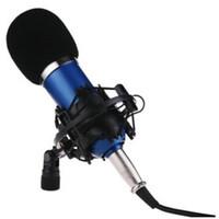 ön cam köpük örtüsü toptan satış-Toptan-Siyah El Sahne Köpük Topu-Tipi Mic Anti Tükürük Cam Mikrofon Karaoke Için Kapak
