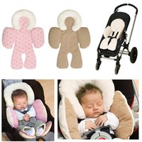 Wholesale Neck Bean Pillow - 2015 New Winter Baby Head and Body Support Pillow Warm Strollers Nursing Pillow Warm Car Seat Baby Pillow Cushion