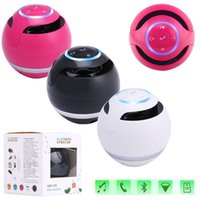 Wholesale Ball Bluetooth Wireless Mini Portable Super Bass Speaker Music Box For Smartphone Laptop Tablet MP3 PC with Retail Box