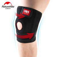 Wholesale Knee Brace Right - Wholesale- NatureHike Elastic Knee Support Knee Pads Brace Kneepad Volleyball Basketball Safety Guard Strap Running Riding Left Right M L