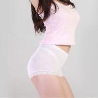 Wholesale Bamboo Lady Wear - 2017 new Middle-waisted Hip Panties Middle-waisted Hip Pad Buttocks Underwear Shape Wear Fake Butt Pads Lady Panties Bamboo fiber underwear