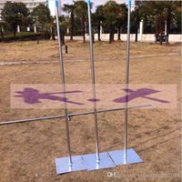 Wholesale Wedding Table Frames - 3M*6M 3*3m 4*4m Wedding Drapery Pipe Stand Wedding Decor Piping frame Pipe and the drape not include  Stainess Steel Wedding Backdrop Stand