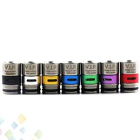 Wholesale Air Bears - TFV8 TFV12 Airflow Drip Tips Air Flow Control Wide Bore Drip Tip Adjustable Airflow Mouthpiece High qualtiy DHL Free