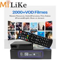 ingrosso decoder superiore-con QHDTV 1300+ abbonamento IPTV Mag250 Smart IPTV Box Decoder Linux Supporto Porta playlist Wi-Fi USB stalker arabo set top box francese