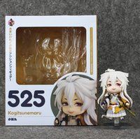 Barato Bons Sorrisos Nendoróides-Touken Ranbu Online face changable Bom sorriso 525 # Kogitsunemaru Nendoroid PVC Action Figure Collectible Model Toy