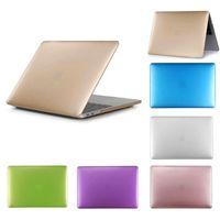 Wholesale laptops 11.6 for sale - Metal Texture Color Hard PC Case For Macbook Air Pro Retina Laptop Case Netbook Front Back Cover
