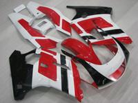Wholesale Yamaha Fzr - Fairing Kits FZR 250 R 1988 Body Kits FZR250R 1986 Red White Black Plastic Fairings for YAMAHA FZR250 1987 1986 - 1989