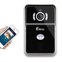 Wholesale Wifi Video Door Phone - eBELL ATZ-DBV04P Smart IP Doorbell Smart Wireless WiFi Video Door Bell Mobile Handsfree Talking Alarm connect phone PAS0014EU-MHZ
