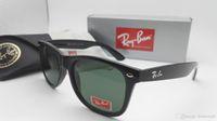 Wholesale Online Frame - New Vintage Sunglasses Cat Eye Brand RAY Sun Glasses Bands Gafas de sol BEN Men Women BANS Mirror glass Lenses with case online