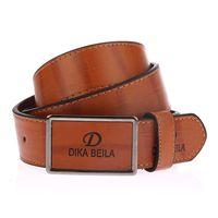 Wholesale Ceinture Genuine Leather - Fashion 2017 Belt designer belts men high quality luxury cowskin belt men women ceinture homme belts luxury brand buckle Gold
