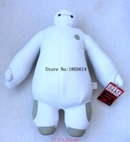 Wholesale Male Pillow Dolls - Hot sale 1 Pc 30CM fashion Big Hero Filmsize cloth doll male doll big white doll plush toy extra large pillow girls gift