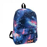 campus de sac à dos étudiant achat en gros de-Vente en gros - Nouveau sac à dos Oxford femmes impression Galaxy Space Univers Space School livre Campus étudiant Sac à dos drapeau britannique