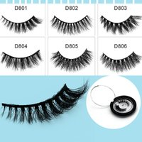 Wholesale Machine Made - 13 Style Natural Makeup 3d Mink Lashes Eyelash Extension HandMade Full Strip Lashes Cruelty Free Korean Mink Lashes False Eyelashes.