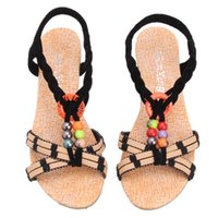 Wholesale Shoe Platform Low Wedge - Women Shoes Sandals Comfort Wedge Sandals Summer Flip Flops 2017 Platform Sandals Gladiator Sandalias Mujer