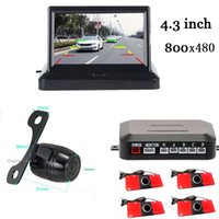 Wholesale Low Price Camera System - Lower price ,parking distance monitoring assistance system. 4.3 inch parking monitor + video parking sensor + rear view camera