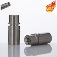 titan domeless schüssel großhandel-Domeless Titannagel für ÖlWachs-Wasser-Rohr-Glasbong haben 14mm 18mm verdoppeln weibliche Verbindung die Schüssel haben 5 Löcher