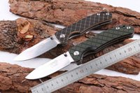 Samior SF Tomahawk Poleaxe War AX 7CR17 Luz de espelho Stonewash Drop Point Blade Square G10 Handle Folding Pocket Faca EDC Facas de acampamento