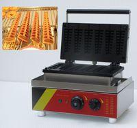 ingrosso v bastoni-Spedizione gratuita 220 v 110 v 6 pz Lolly Waffle Maker Waffle Stick Hot dog Waffle Machine
