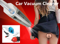Wholesale Electrical Dryer - Wholesale-Car-Styling Car Electrical Appliances Portable Car Vacuum Cleaner Wet and Dry Aspirador de po dual-use Super Suction Free Ship