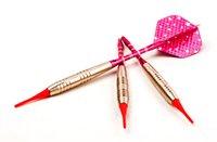 Wholesale Wholesale Steel Tip Darts - 17g steel, copper, aluminum shaft Soft tip dart toys 3 pcs set,
