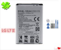Wholesale Optimus F3 - For LG Optimus L7 II Dual P715 F5 F3 VS870 Battery Replacement High Quality With Free ePacket And Repair Tool Kit