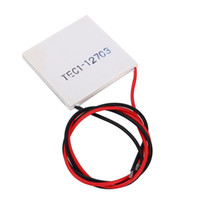 Wholesale Peltier Modules - TEC1-12703 Heatsink Thermoelectric Cooler Cooling Peltier Plate Module Cooling Accessories