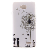 Wholesale Rubbers Lg Optimus - Ultra Thin Cartoon Owl Tiger TPU IMD Rubber Soft Cover Case for LG Optimus L70 L65 D320 W5