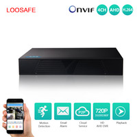 Wholesale Hard Disk For Dvr - loosafe High definition 4ch AHD playback DVR use for AHD Analog camera digital hard drive disk DVR p2p cloud AHD DVR