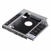 Wholesale Hdd For Asus - Wholesale- 12.7mm SATA HDD SSD Hard Drive Caddy Optical DVD Bay Adapter For Asus K53SV VCQ06 P10