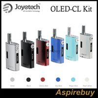 Grey original cs - Joyetech eGrip OLED CL Kit features with OLED Screen W W Output VV VW Mode Support eGo One CL Head eGrip CS Head eGrip RBA Original