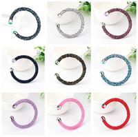 bracelets diamantaires uniques achat en gros de-Meilleur cadeau Nouveau bracelet à diamants chauds éclatement mode perceuse à chaud unique tour bracelet FB294 mélange ordre 20 pièces beaucoup Bracelets à breloques