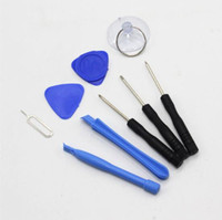 Wholesale Tool Kits For Cell Phones - 9 in 1 Screw Driver Cell Phone Repair Tool Kit For iPhone Samsung Android Phones