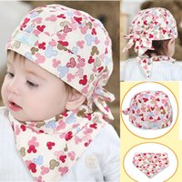 Wholesale Baby Pirate Caps - Wholesale- Newborn Baby KIds Pirate Hat Scarf Cap Sleeve Headgear Bibs Suits High quality, soft, stretchy, warm bandana bibs dribble bibs