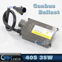 Wholesale Hid Kit H16 - High Quality 35W Xenon HID KIT Ballast Replacement AC 12V CANBUS Ballasts For H1 H7 H8 H11 5202 H16 hid xenon lamp ballast
