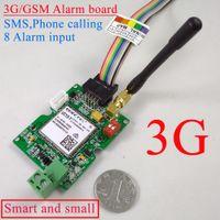 Wholesale gsm home intruder alarm system - Wholesale- Free shipping 3G   GSM SMS Alarm Controller 8CH Input Burglar Intruder Wireless GSM Alarm System Home Security GA09B
