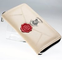 Wholesale Party Pillow - Hot sale Harry Potter Letter Zip Around Wallet pu Long Fashion Women Wallets Designer Brand Purse Lady Party Wallet Female Card Holder 008