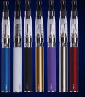 Wholesale E Cigarette Gold Clearomizer - CE4 ego starter kit CE4 Electronic Cigarette Blister kits e cig 650mah 900mah 1100mah EGO-T battery blister case Clearomizer E-cigarette