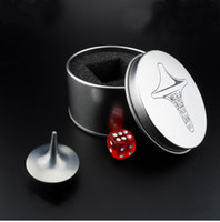 Inception Movie Spinning Top Toys Stainless Steel Totem Gyro Zinc Alloy Spinning-Top Spinner à main Jouet Silver Color