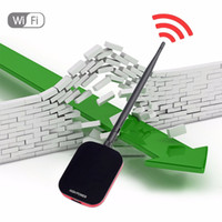 Wholesale High Speed Wifi Usb Wireless - New High Power Speed N9000 Free Internet Wireless USB WiFi Adapter 150Mbps Long Range + Wi fi Antenna Wi-fi Receiver Hot Sale!!